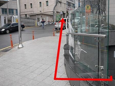 ソウル駅10番出口からHoteletteホテル