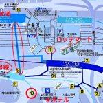 ソウル駅地図