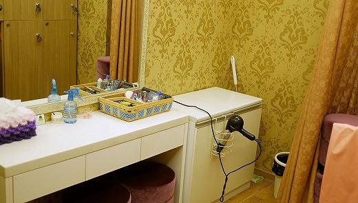 高品質のヨモギ蒸しができるソウルのヨモギ蒸し専門店「ASUCA」 更衣室