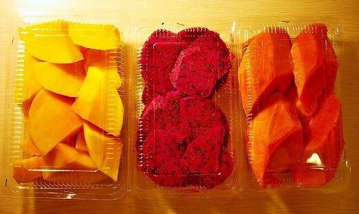 六合夜市 六合鮮水果 カットフルーツ