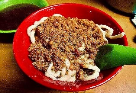 老牌牛肉拉麺大王 台北 台湾 ジャージャー麺