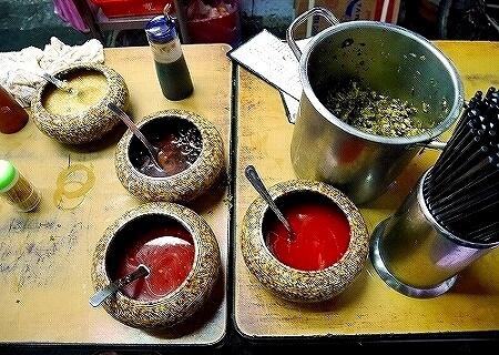 老牌牛肉拉麺大王 台北 台湾 ジャージャー麺 辣油 ラー油 にんにく 豆鼓