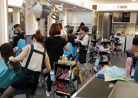 台湾 中山駅 美容院 KAITI
