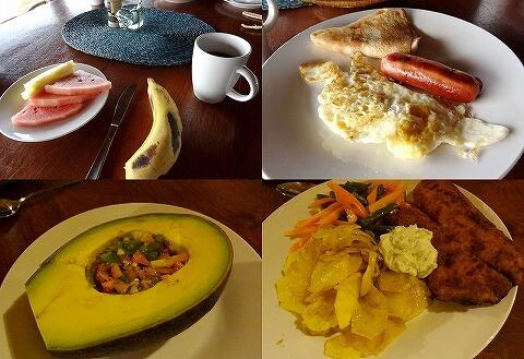 ウガンダ Rwakobo Rock ルワコボ・ロック 食事 朝食 夕食