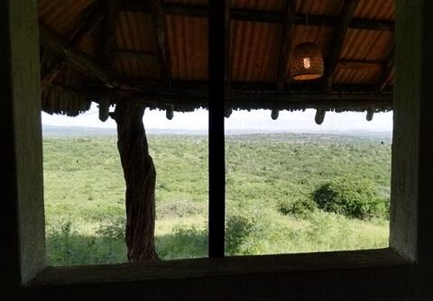 ウガンダ Rwakobo Rock ルワコボ・ロック ホテル 眺め