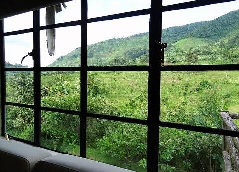 ウガンダ マホガニースプリングスホテル 景色