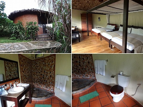 ウガンダ マホガニースプリングス 部屋