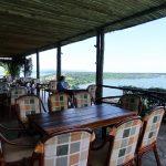 ウガンダ ムウェヤサファリロッジ レストラン