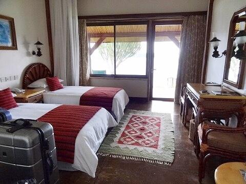 ウガンダ ムウェヤサファリロッジ ムウィヤ 部屋 Mweya Safari Lodge