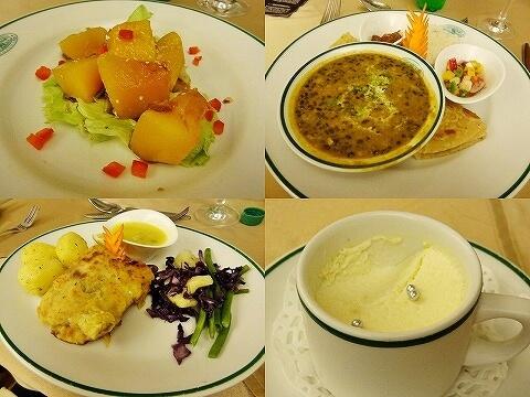 ウガンダ ムウェヤサファリロッジ ムウィヤ 食事 Mweya Safari Lodge