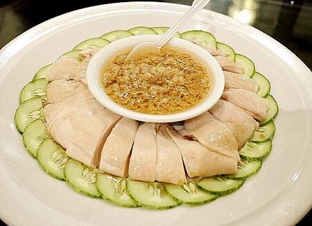 シンガポール ジンジャーチキン スープレストラン