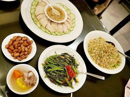 スープレストラン(三盃雨件) パラゴン シンガポール ジンジャーチキン