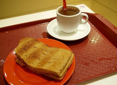 ヤクンカヤトースト コーヒー