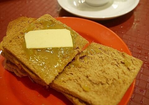 ヤクン・カヤ・トースト バター