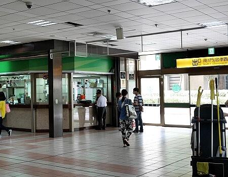台北駅 南1門出口(忠孝西路)