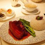 マンダリンオリエンタル台北 CAFE UN DEUX TROIS 爌肉飯 コンローファン ルーローファン