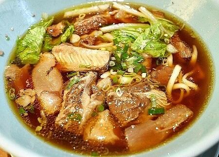 シェラトングランデ台北 ホテル The Lounge 牛肉麺