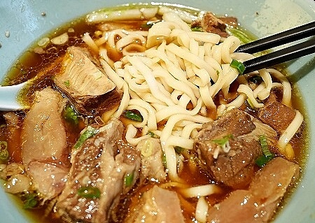 シェラトン台北 The Lounge 牛肉麺