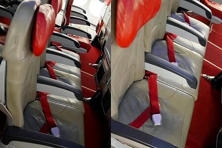 エアアジア 座席 エンプティシートオプション ESo