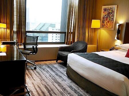 Carlton City Hotel Singapore カールトンシティホテル 部屋 シンガポール