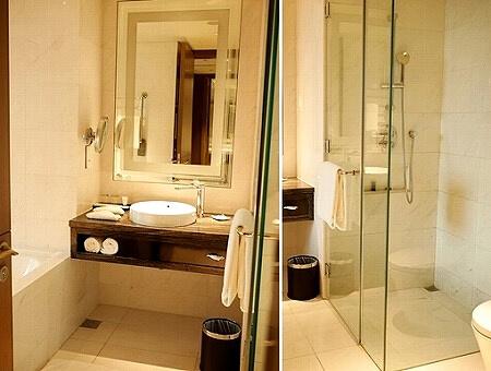 シンガポール カールトンシティホテル バスルーム Carlton City Hotel Singapore
