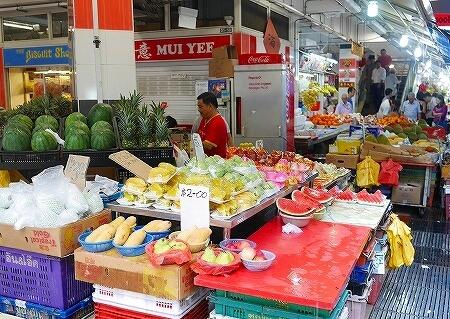 タンジョンパガープラザ フルーツ屋 シンガポール