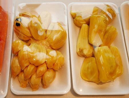 シンガポール タンジョンパガープラザ フルーツ チェンペダック ジャックフルーツ