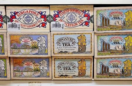 ムスタファセンター 紅茶 2階 シンガポール お土産