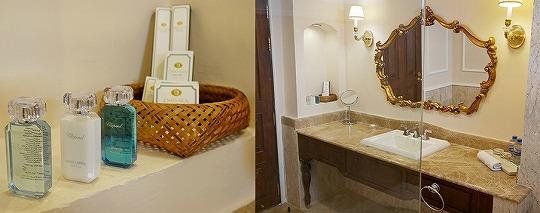 ラオス ビエンチャン ダバラ・ブティックホテル Dhavara Boutique Hotel バスルーム アメニティ