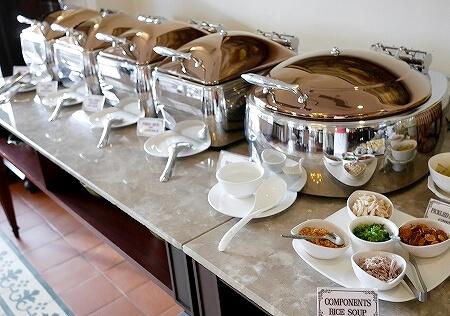 ラオス ビエンチャン ダバラ・ブティックホテル Dhavara Boutique Hotel 朝食