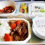 大韓航空 機内食 仁川→成田 ソウル