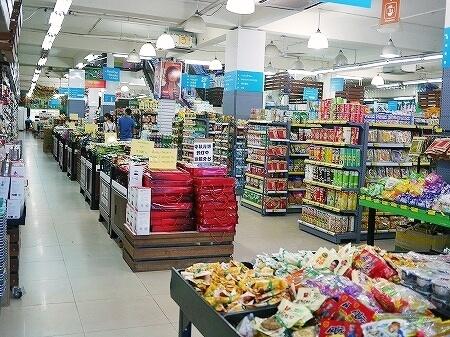 ラオス ビエンチャン スーパーマーケット Home Ideal ホーム・アイディール 店内