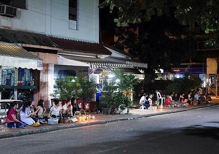 ラオス ビエンチャン 托鉢 時間 場所 サラナブティックホテル Salana Boutique Hotel