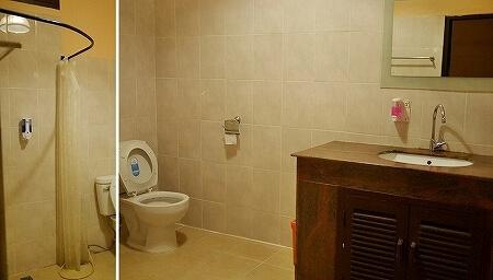 ラオス ビエンチャン チャンパスパ champa spa3 個室 トイレ