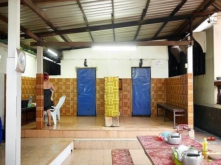 ラオス ビエンチャン 薬草サウナ セタパレスホテル近く Ban Sabai Sauna And Massage