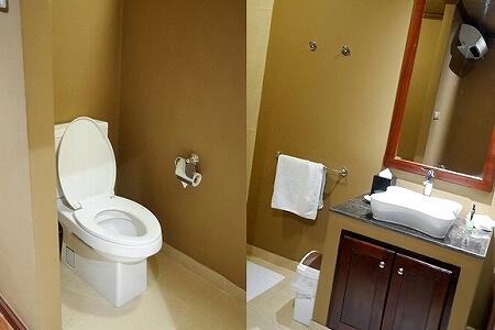 Settha Palace Hotel セタパレスホテル セッタパレスホテル セターパレスホテル マッサージ スパ トイレ