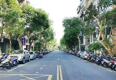 台湾 台北 富錦街 並木