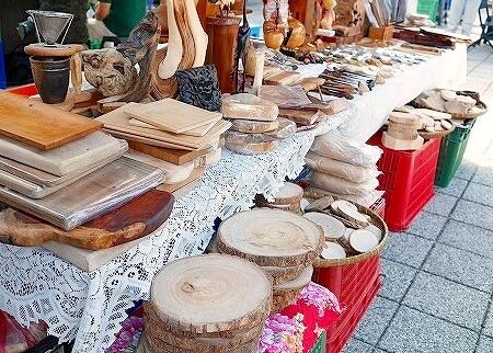 四四南村 フリーマーケット シンプルマーケット 木製品