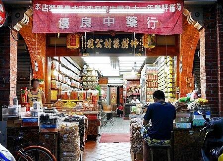 台湾 台北 迪化街 坤樹薬材公司