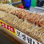 韓国 大邱 テグ 西門市場 クンチャン高麗人参直売店
