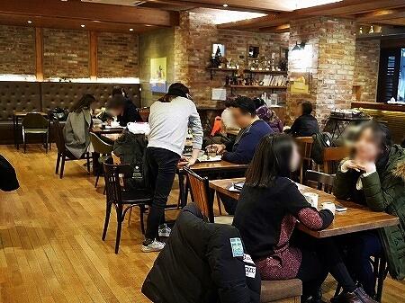 韓国 大邱 テグ T calass coffee  カフェ 店内