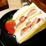 韓国 大邱 テグ T calass coffee  カフェ いちごショートケーキ