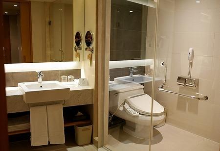 ノボテルアンバサダー大邱 ホテル テグ スーペリア 部屋 トイレ
