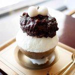 韓国 大邱 キョンソンパッチッ・オンヌモン 東城路店 ハッピンス 小豆 かき氷