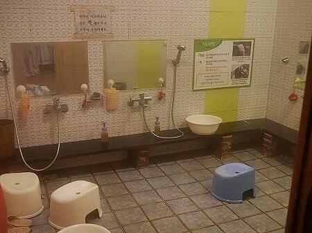 韓国 大邱 テグ 酵素カフェ トゥリウォン 酵素浴 酵素風呂 シャワー