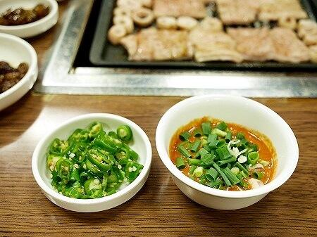 韓国 大邱 テグ テヨンセンマクチャン ホルモン焼き マクチャン 味噌だれ