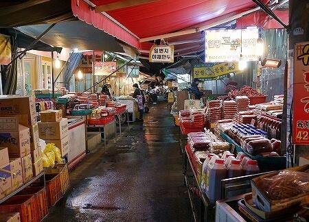 韓国 大邱 テグ 七星市場