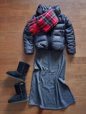 韓国 冬 12月 大邱 服装 ファッション
