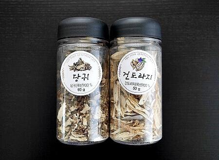 韓国 スーパー お土産 HomePlus ホームプラス 漢方 韓方 桔梗 キキョウ トウキ 当帰