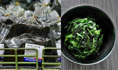 韓国 大邱 西門市場 のりふりかけ 乾物百貨店
